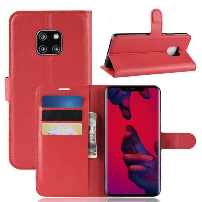 coque mate 20 pro huawei cuir