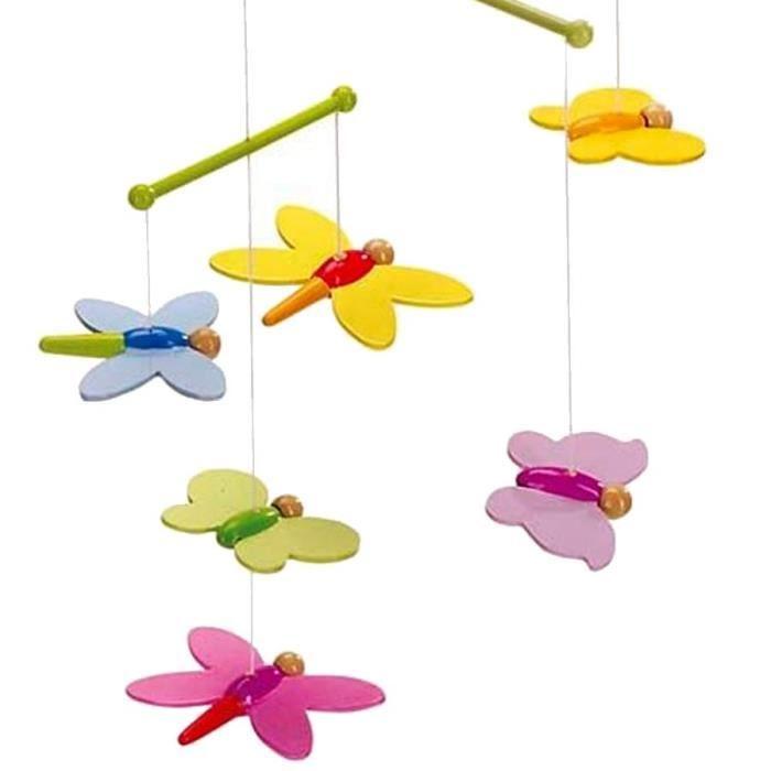 Goki Mobile Papillons en Bois