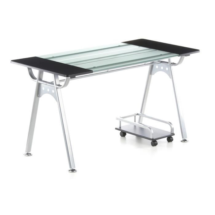 table informatique orion graphite verre arg achat