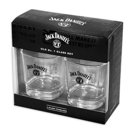 coffret 2 verres jack daniel 39 s n 7 achat vente verre eau soda cdiscount. Black Bedroom Furniture Sets. Home Design Ideas