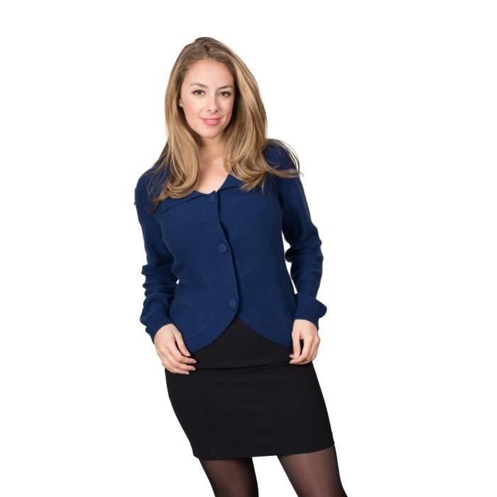 gilet femme cachemire bleu marine jumpers sale. Black Bedroom Furniture Sets. Home Design Ideas