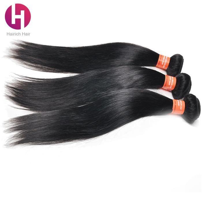 PERRUQUE - POSTICHE HAIRICH-7A 3 Tissages Brésilien Cheveux Silk strai