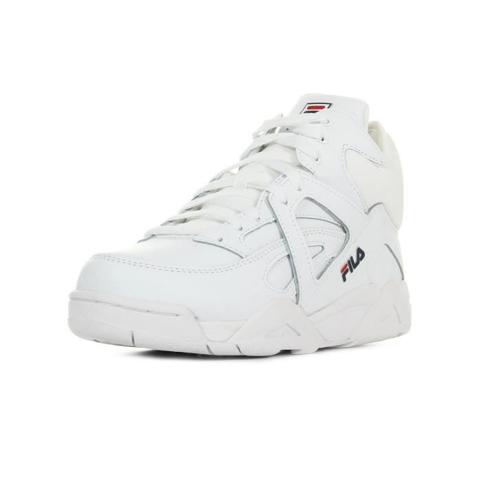 Achat Blanc Cdiscount Cage Mid Wmn Basket Baskets Fila Vente OXZiuPk