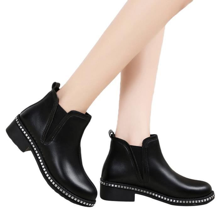 Rafraîchir Femmes//Filles Noir Lacet Plat Chaussure De Travail//École Tailles Différentes