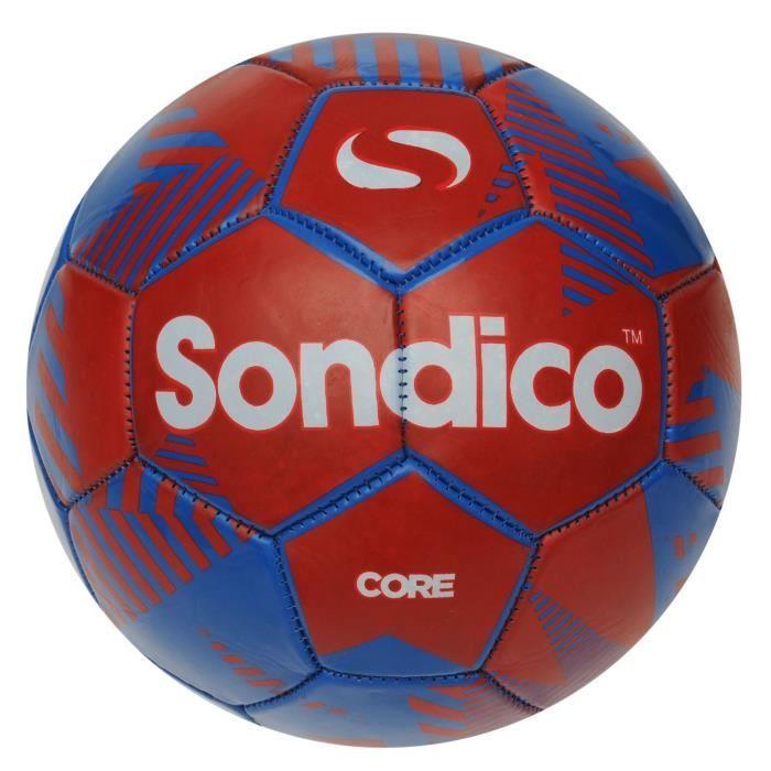 Sondico Football Taille 5 Sport équipement de Ballons De Football Rouge//Noir