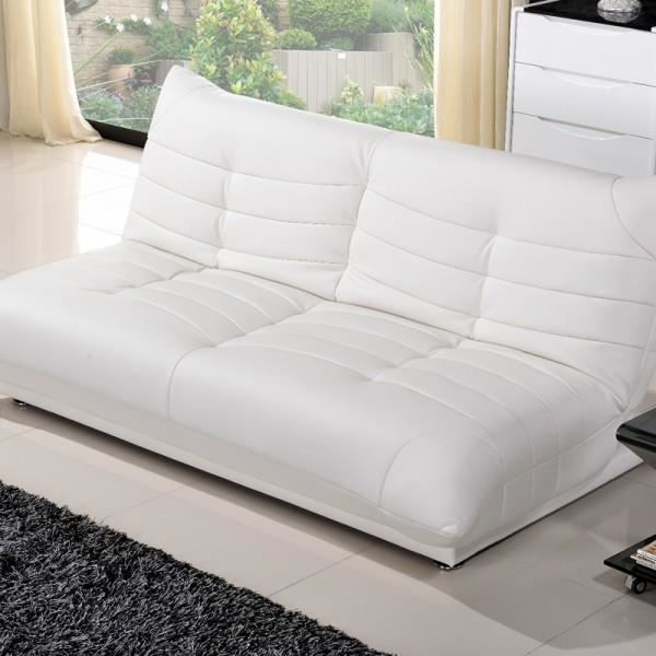 clic clac shamu design simili cuir blanc achat vente clic clac cdiscount. Black Bedroom Furniture Sets. Home Design Ideas