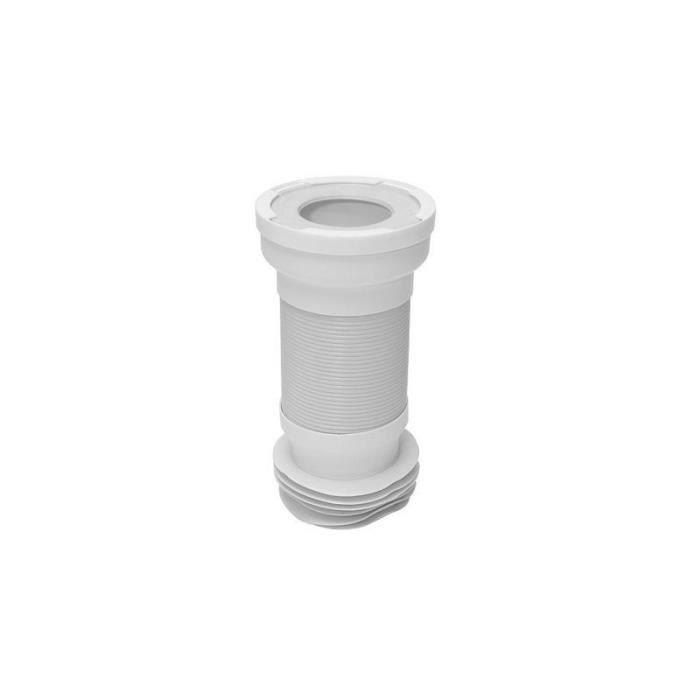 Pipe articulée souple universelle de WC 110 diamètre