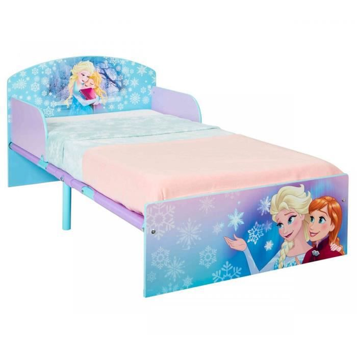 lit disney la reine des neiges impact achat vente lit. Black Bedroom Furniture Sets. Home Design Ideas