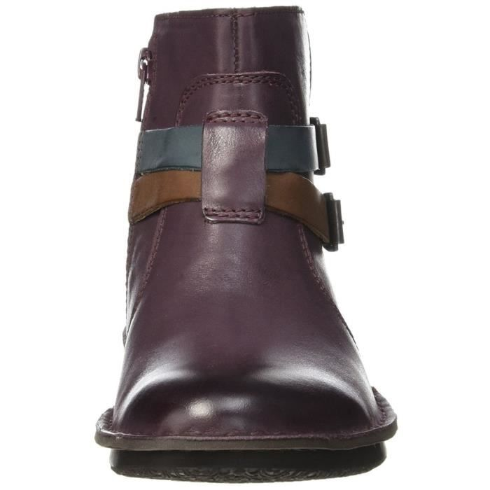 bottines / low boots waouso femme kickers 440081