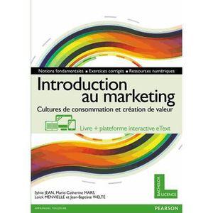 LIVRE MARKETING Introduction au marketing