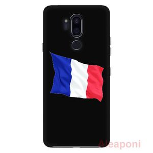 COQUE - BUMPER Coque LG G7 Fit Smartphone Battant pavillon fran&#