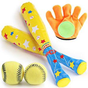 Aoneky Batte de Baseball Entra/înement pour Enfants Jouets de Baseball avec Balle de Baseball pour Jeux pour Enfant 2-7 Ans