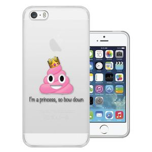coque iphone 5s emoji achat vente coque iphone 5s emoji pas cher les soldes sur cdiscount. Black Bedroom Furniture Sets. Home Design Ideas