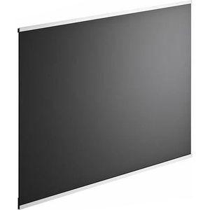 CREDENCE Crédence en verre de 5mm d'épaisseur - Noir - 60x4