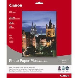 PAPIER THERMIQUE CANON Papier Photo Plus Semi-gloss Satiné SG-201 c