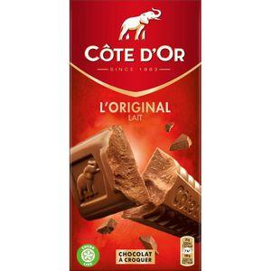 CHOCOLAT EN TABLETTE Chocolat au lait extra fin 200g Côte d'Or