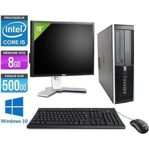 ORDI BUREAU RECONDITIONNÉ Pc de bureau HP 8200 - i5 2400 - 8 Go - Windows 10