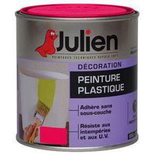 PEINTURE - VERNIS JULIEN PEINTURE PLASTIQUE 0.5L GRIOTTE