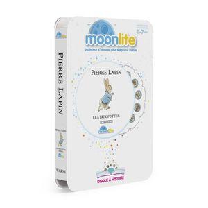 LIVRE INTERACTIF ENFANT MOONLITE Pack Histoire - Pierre Lapin  6047233