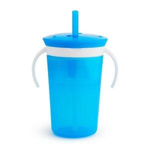 TASSE D'APPRENTISSAGE Munchkin Tasse d'Apprentissage Sippy Snack Cup Ble