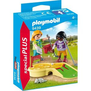 UNIVERS MINIATURE PLAYMOBIL 9439 - Family Fun - Enfants et minigolf