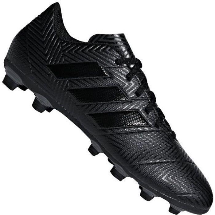 ADIDAS Chaussures de football Nemeziz 18.4 FXG III - Homme - Noir