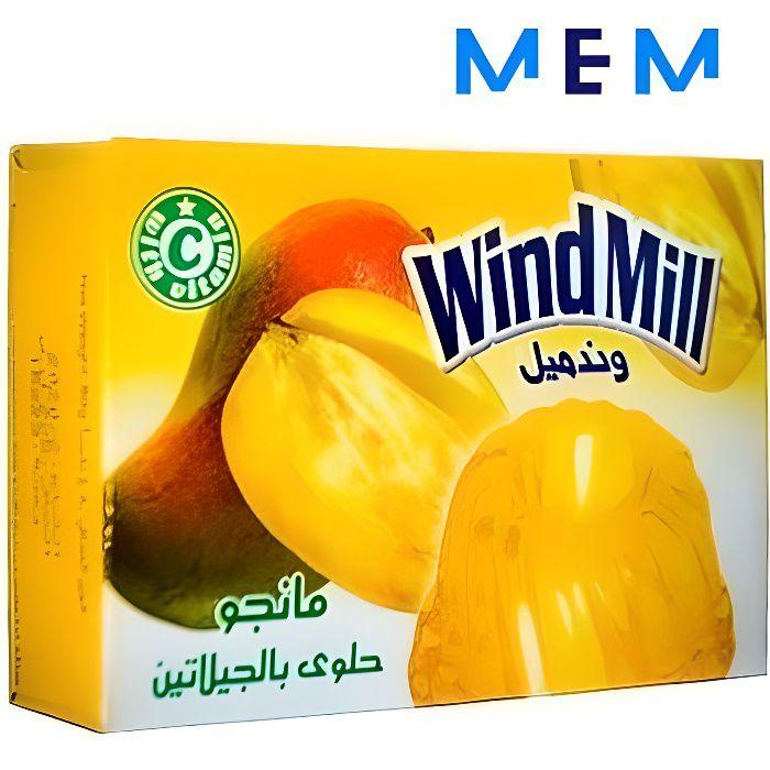 Gelée de fruit (jelly) saveur mangue WINDMILL 80 gr