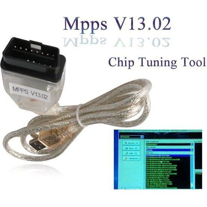 Valise Reprogrammation Moteur Gain puissance - MPPS V13 PRO + V16 by Mister Diagnostic®