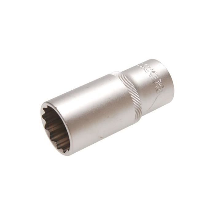 Douille pour clé à douille pour injecteurs diesel 12,5 mm (1/2-) 27 mm