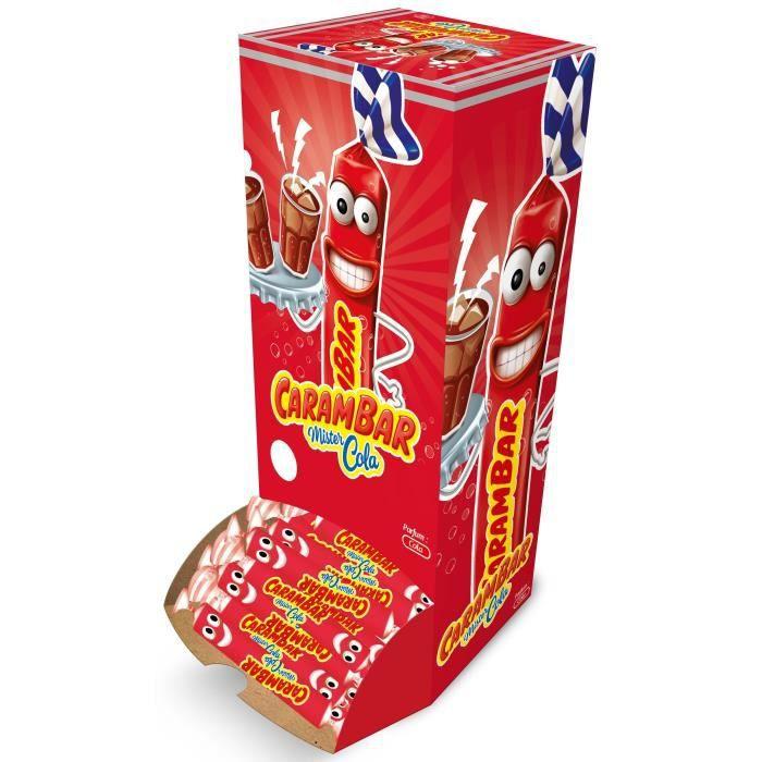 CARAMBAR Bonbons Cola - Boîte 180 pièces