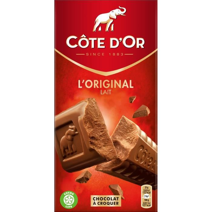 CODE D'OR Chocolat au lait extra-fin - 200 g