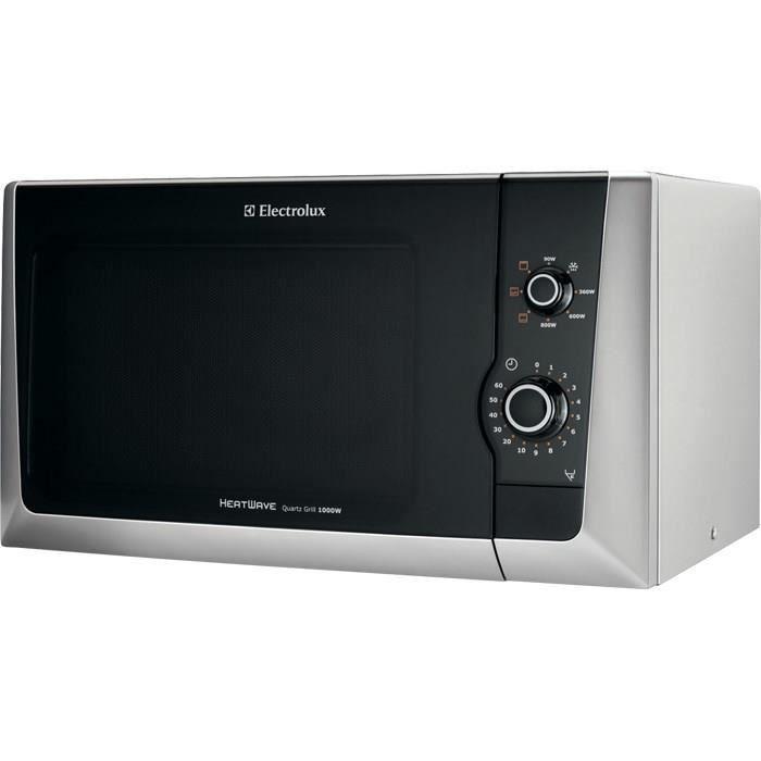 Electrolux EMM21150S, Comptoir, Micro-ondes grill, 18,5 L, 800 W, Rotatif, Argent