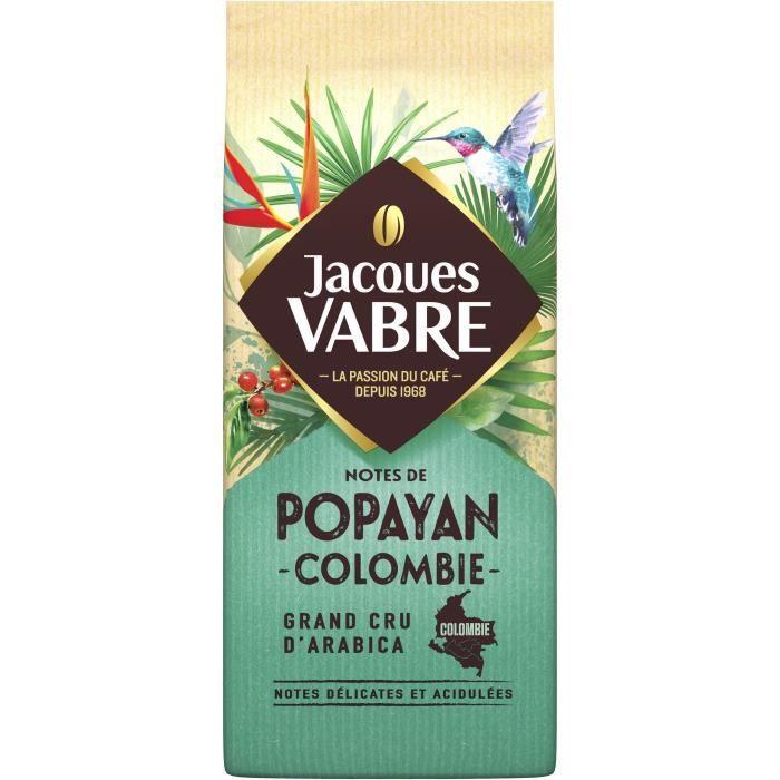 JACQUES VABRE Terroir de Popoyan - Café moulu - 250 g