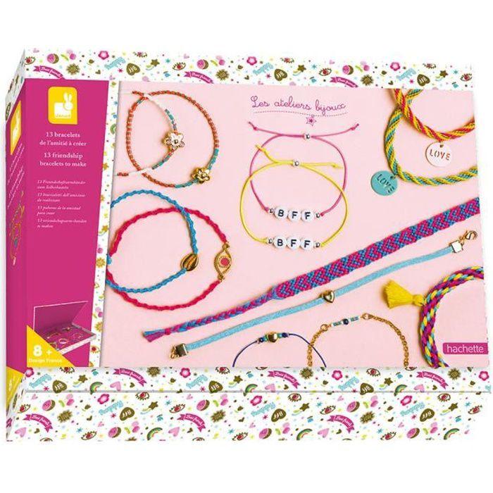Kit Créatif - 13 Bracelets de l'Amitié à Créer - Les Ateliers Bijoux - Dès 8 ans