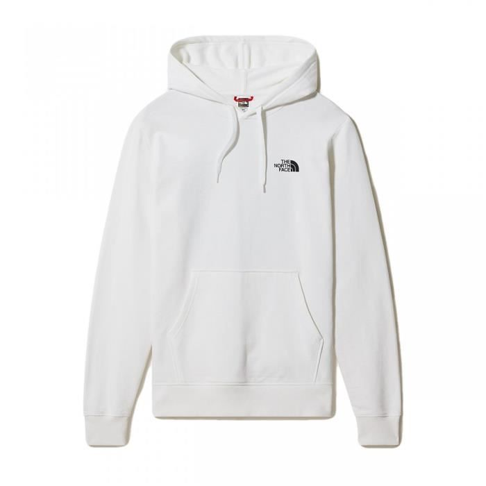 Sweat The North Face Geodome Hoodie Blanc