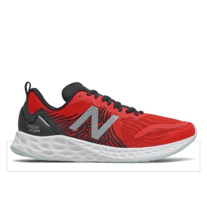 Chaussures de running New Balance fresh foam tempo - velocity red/black - 43