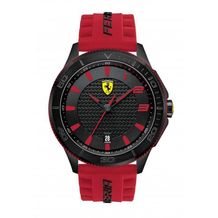 Montre Scuderia XX Ferrari en fibre de carbone …