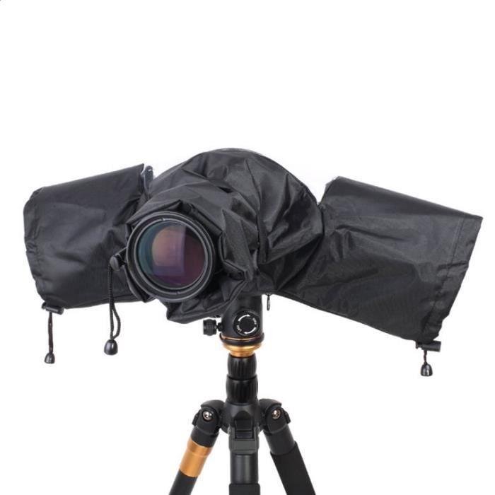 SAC A DOS - SAC PHOTO - OPTIQUE 1 pièce x housse de pluie pour objectif de caméra