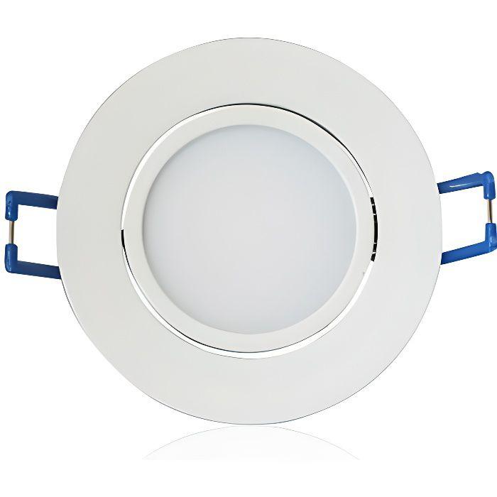 LED Encastrable 7W (60W) Couleur Blanc froid