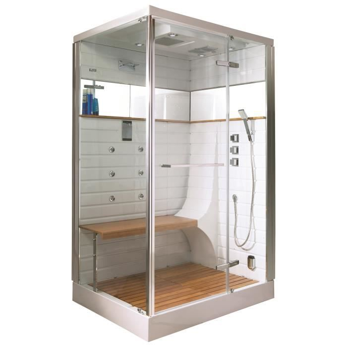 cabine de douche hammam avec porte pivotante achat vente pi ce hammam sauna cabine de. Black Bedroom Furniture Sets. Home Design Ideas