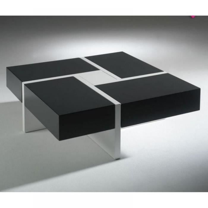 Table basse design molly gris anthracite et bla achat for Table basse gris anthracite