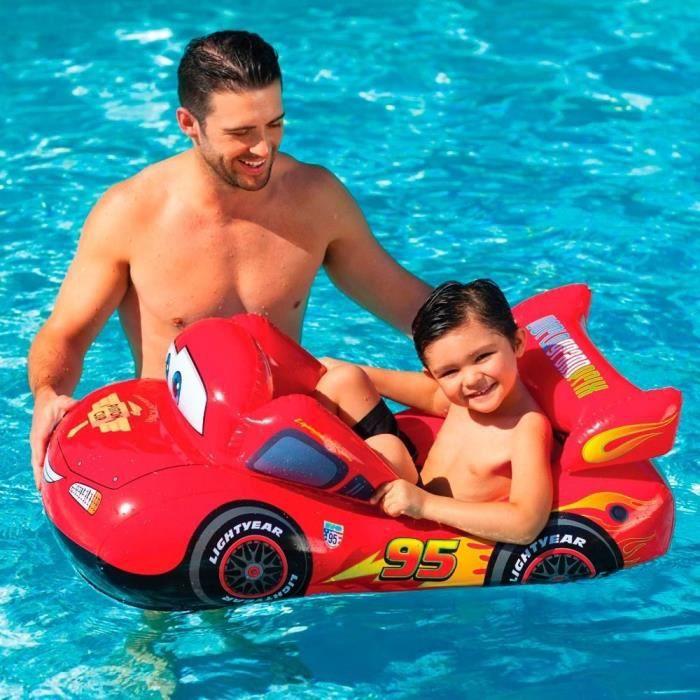 JEUX DE PISCINE CARS Bateau gonflable enfant Pool Cruiser - Jeux d