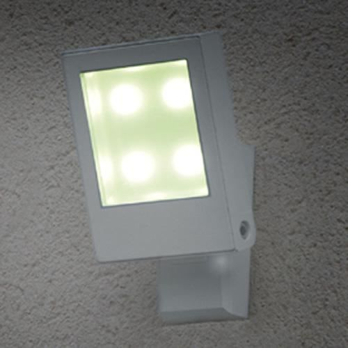 Applique led murale ext rieur blanche achat vente for Lampe led exterieure