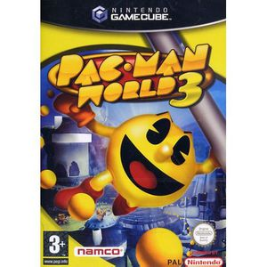 JEU WII PAC-MAN WORLD 3 / JEU GCU