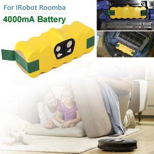 PIÈCE ENTRETIEN SOL  Batterie de remplacement pour 4000mA iRobot Roomba