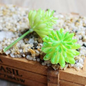 FLEUR ARTIFICIELLE Version 19 -  Pc  Divers Miniature Succulentes Sim