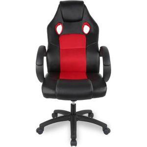 SIÈGE GAMING Racing Chaise de Gamer Ergonomique Fauteuil de Bur