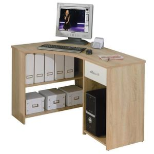 bureau d angle avec rangements achat vente bureau d. Black Bedroom Furniture Sets. Home Design Ideas