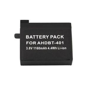 BATTERIE APPAREIL PHOTO Rncyn 3.8V 1160mAh Batterie pour GoPro Hero 4 AHDB