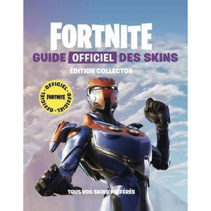 LIVRE MULTIMÉDIA Fortnite. Guide officiel des skins, Edition collec